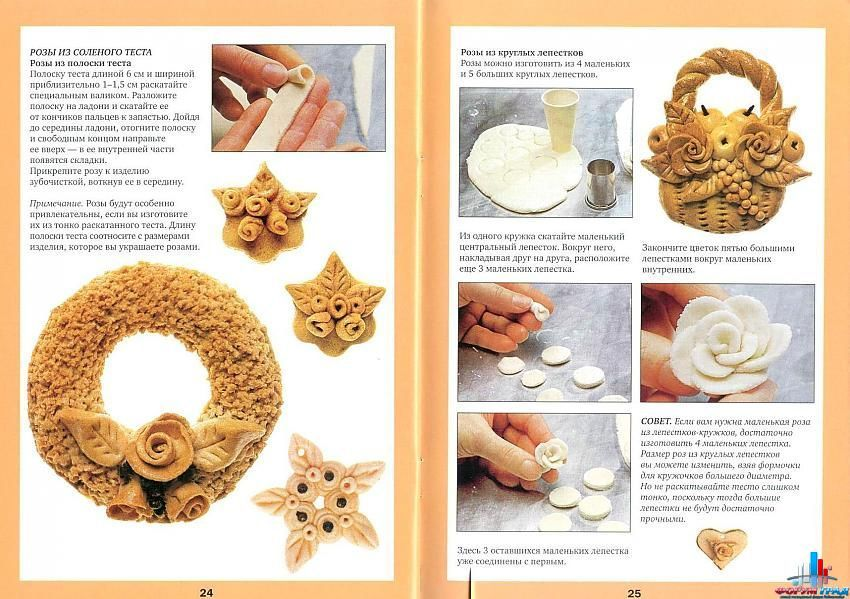 Как сделать тесто соленое для поделки