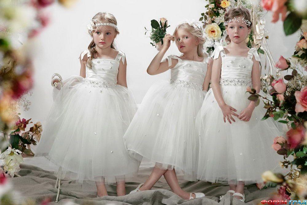 Платье для свадьбы на ребенка