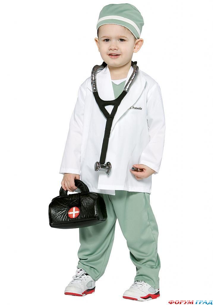 Детский халат врача 1