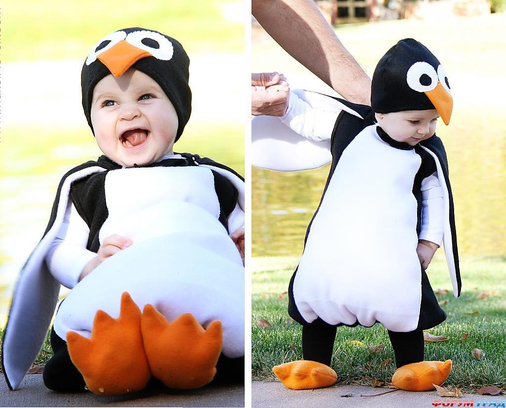 Сделать своими руками костюм пингвина