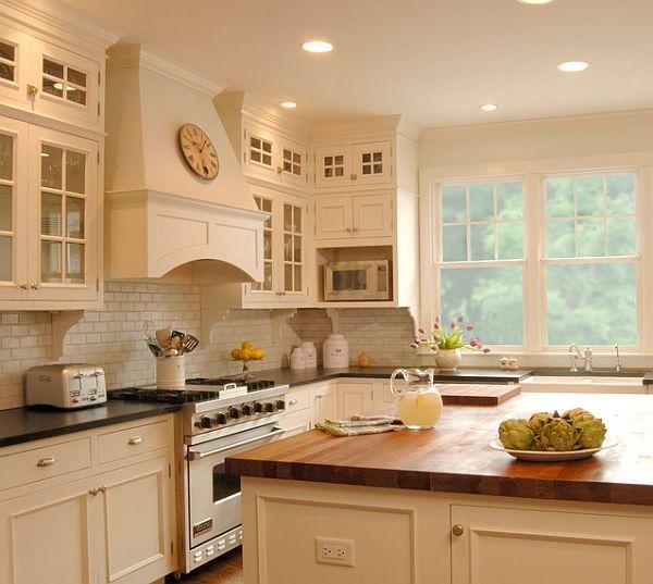 Оригинальный дизайн интерьера кухни
