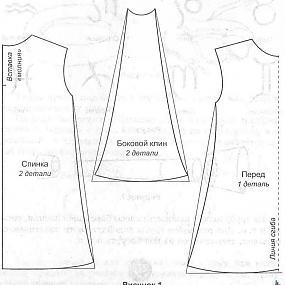 Как сшить платье своими руками с расклешенной юбкой