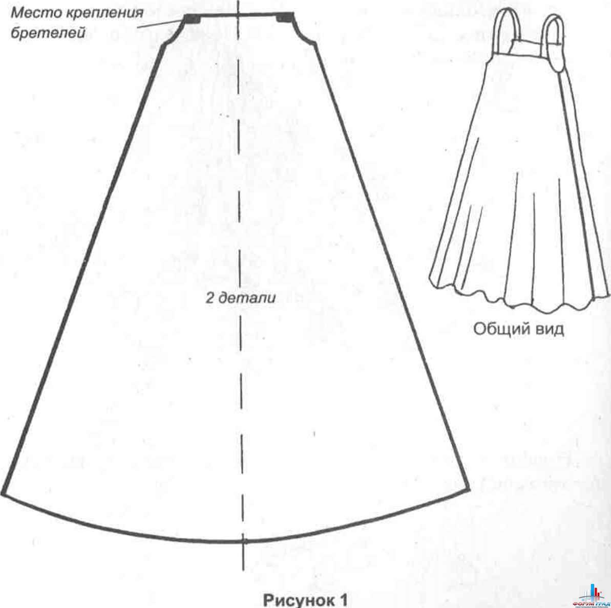 Новогоднее платье своими руками выкройка