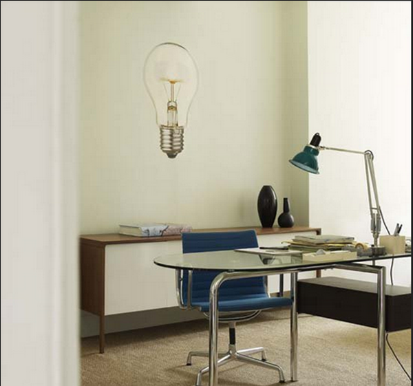 Лампа Anglepoise в интерьере офиса