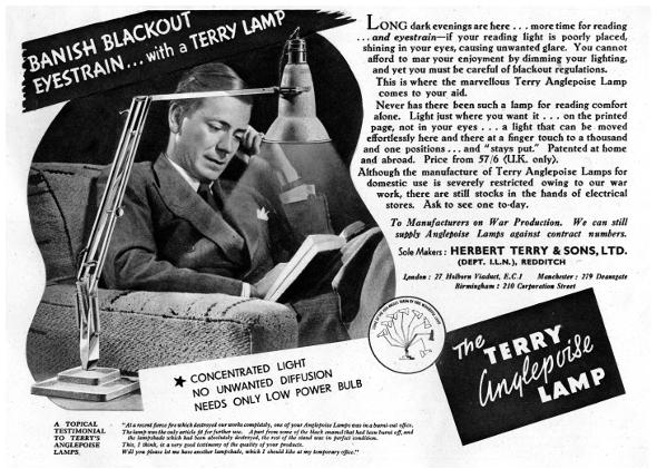 Лампа Anglepoise в домашнем интерьере