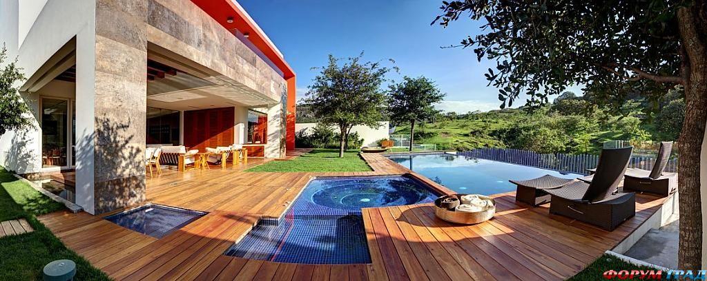 Дизайнерские идеи для дома: изящный интерьер яркого особняка Casa S