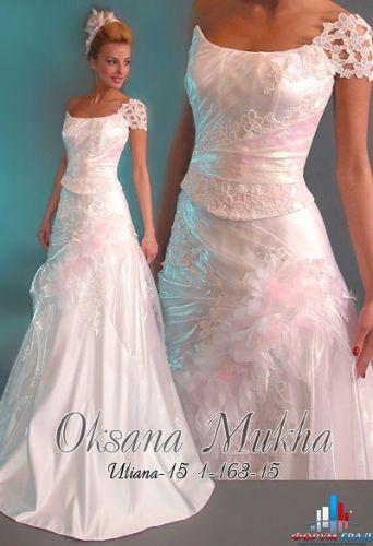 Свадебные платья на фото.