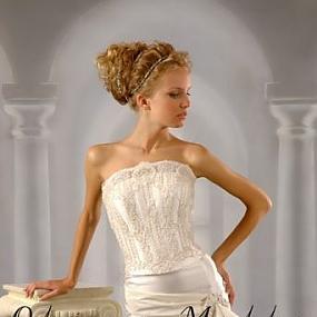 Фото вечерних платьев на девушках вид сзади.