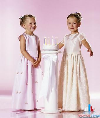 Выкройки детских выпускных платьев