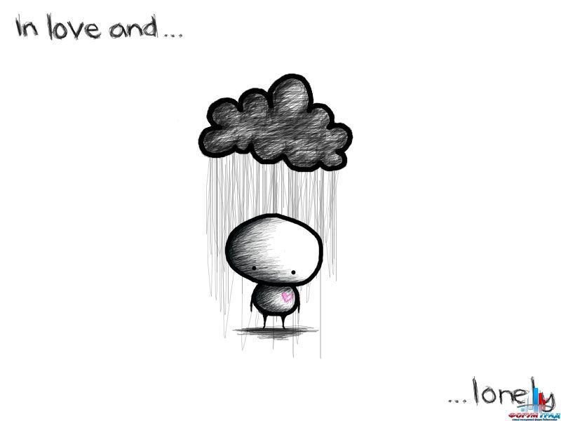 Аниме картинки грустные парни