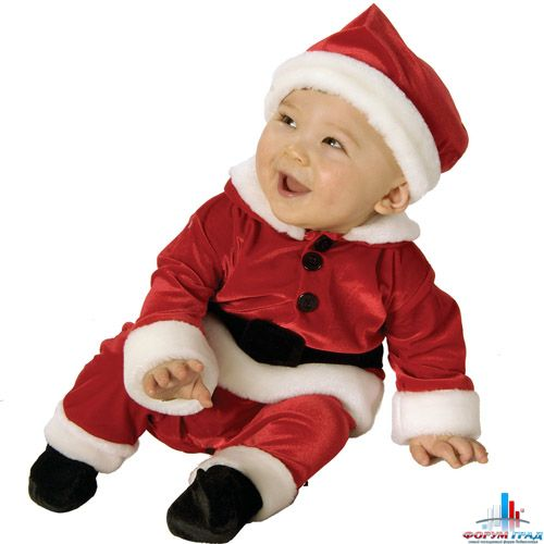 Новогодний костюм на мальчика до года