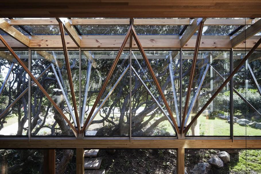 Уникальная резиденция Under Pohutukawa