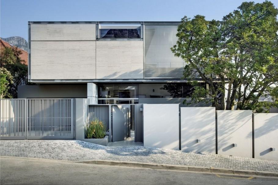 Дома из стекла и бетона: сдержанная роскошь особняка Vk1 в Кейптауне