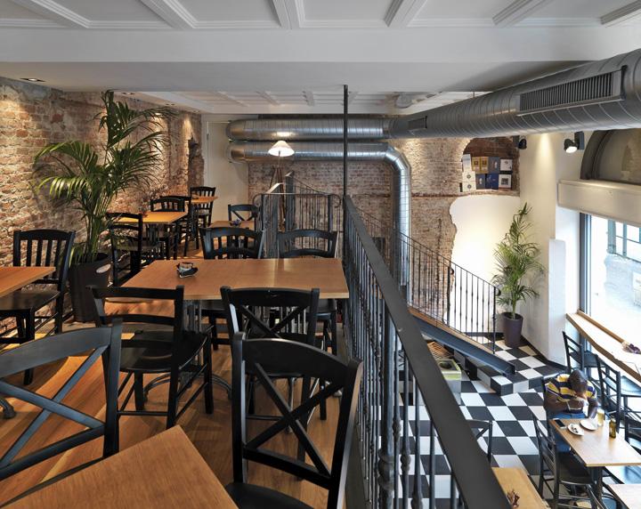 Оригинальный внутренний интерьер элитного бутика Jitrois в Лондоне