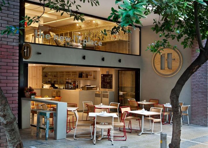 IT café в Афинах, Греция