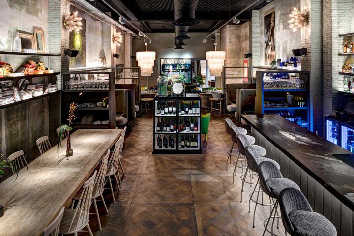 Уютный магазин-кафе от Jaime Beriestain в Барселоне, Испания
