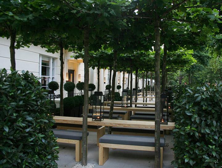 Интересный дизайн отеля La Suite West в Лондоне