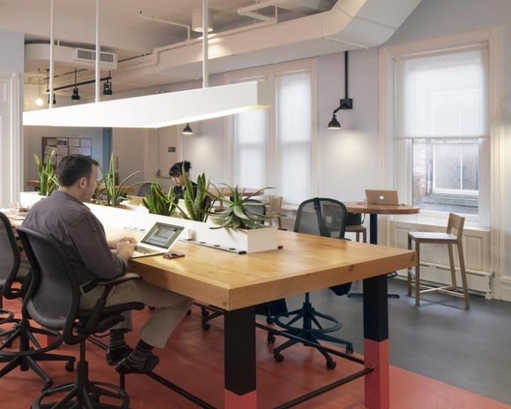 Дизайн офиса What If! - Нью-Йорк, США
