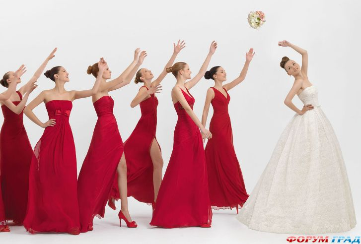 Букет поймать на свадьбе