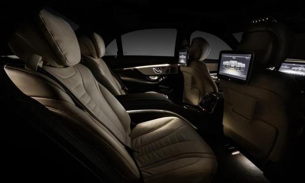 Mercedes S class 2014 w222 interior