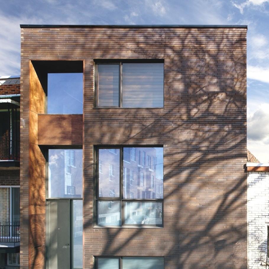 Проект дома для большой семьи: совершенство простоты от канадских архитекторов