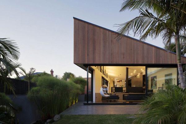 Креативные проекты домов и коттеджей: необычный дом в Новой Зеландии