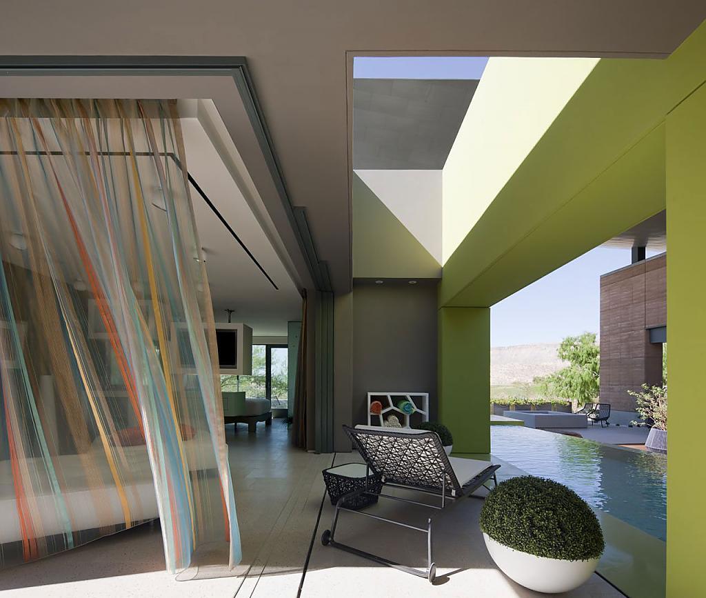 Американские дома: фото стильного коттеджа J2 в штате Невада