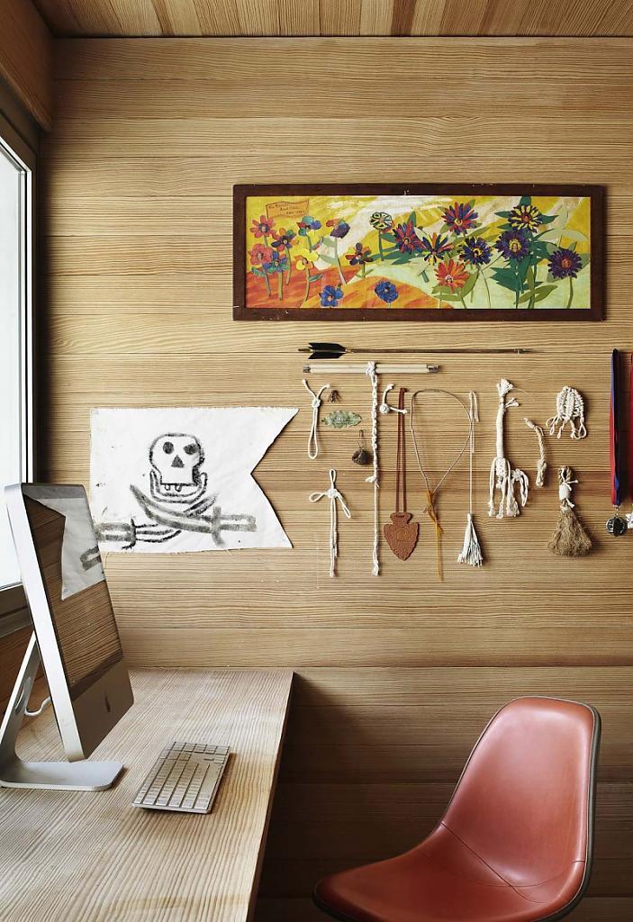 Красивые дома в Америке: фото реконструированного коттеджа House by Pollen в Техасе