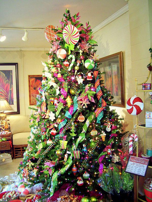 Новогоднее украшение елки своими руками фото