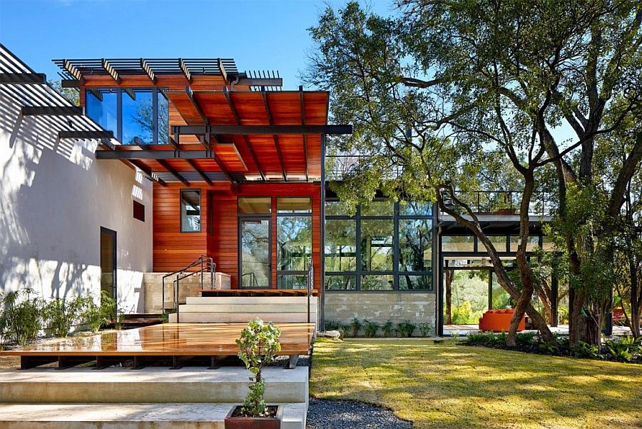 Совершенный проект красивого загородного дома