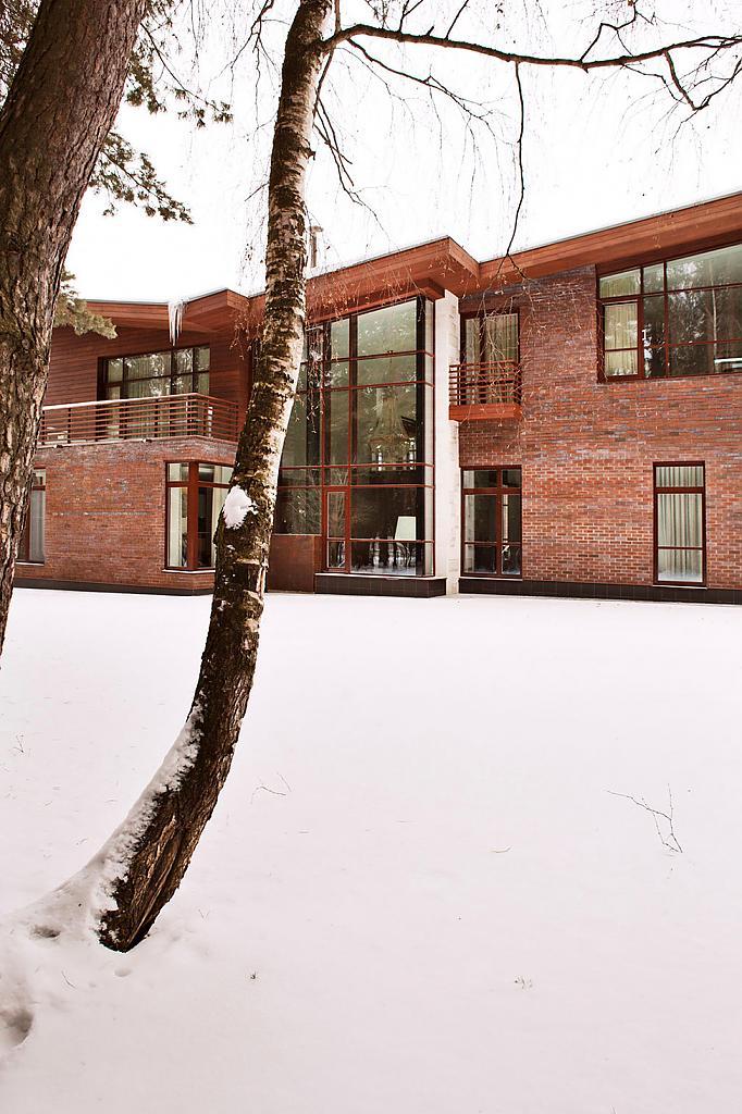 Задний фасад дома Ruben Dishdishyan крупным планом
