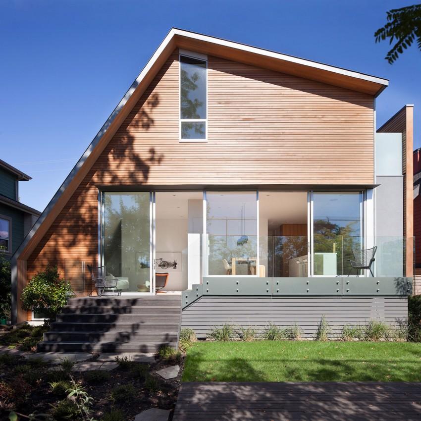 Проект особняка необычной формы от канадской студии Splyce Design