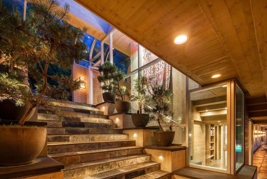 Впечатляющая реконструкция элитного загородного дома