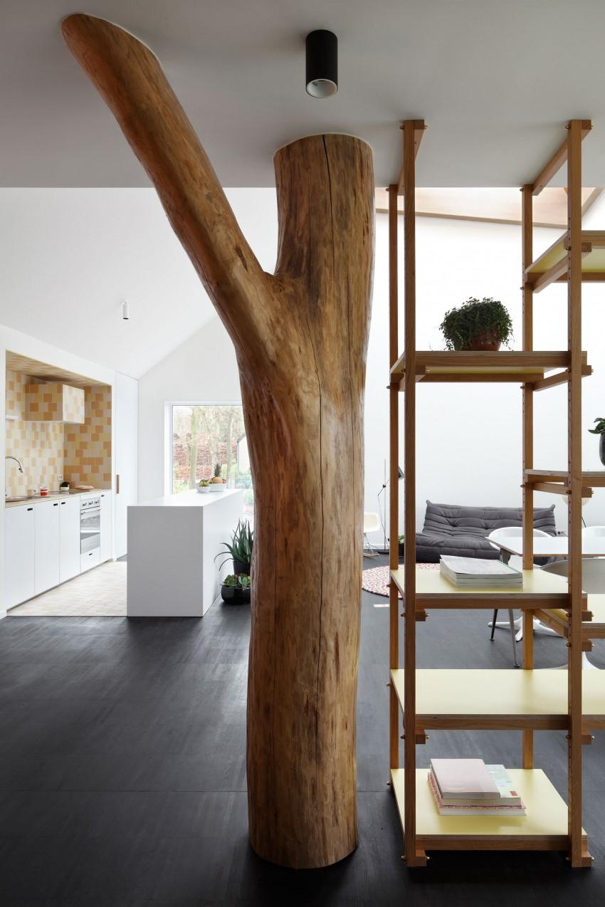 Замечательный проект уединённого дома для творчества