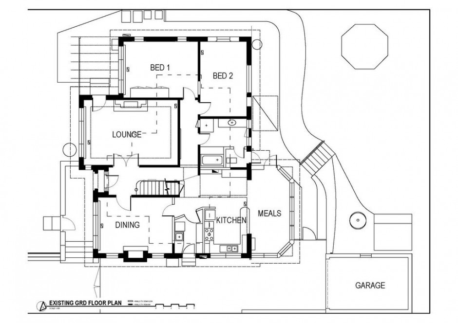 Схема дома Kew-House