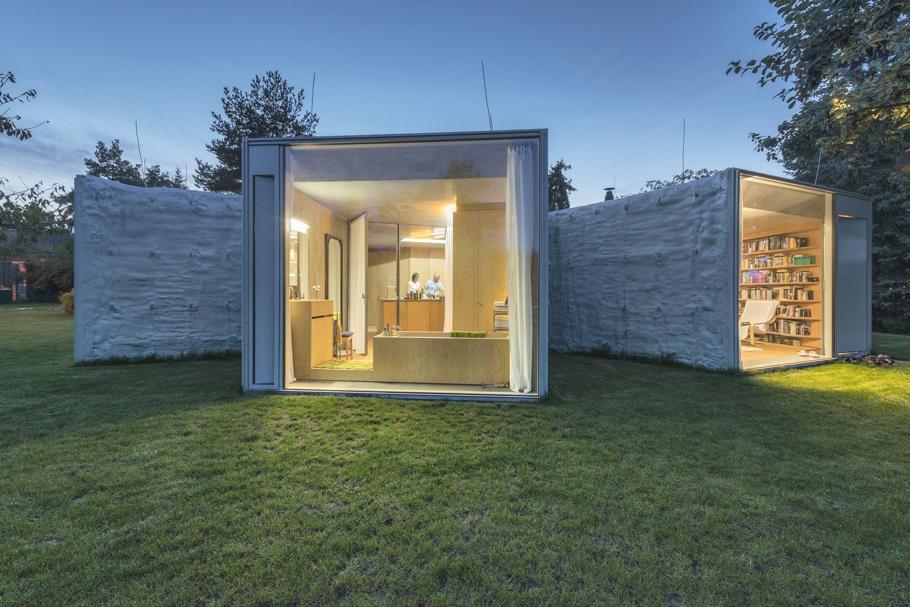 Оригинальный проект дома с концептуальной планировкой