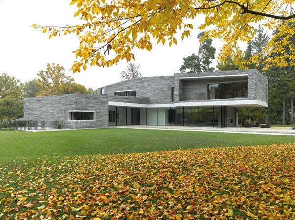 Модульные дома: красивый Haus M в Германии