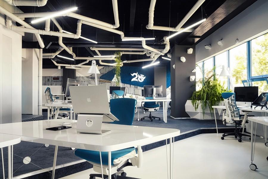 Онлайн дизайн офиса