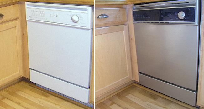 Stainless Steel Coatings : Мебель и техника из нержавеющей стали Кухню украшаем