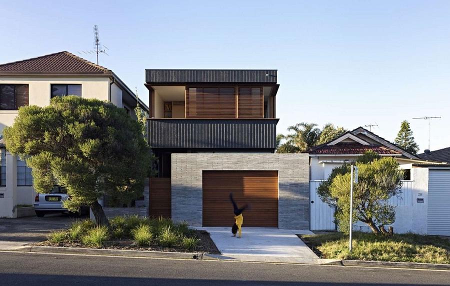 Проект длинного дома с «умными» функциями в Сиднее