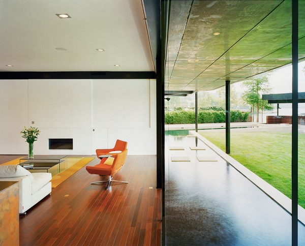 Красивые дома в стиле модерн: коттедж в Техасе
