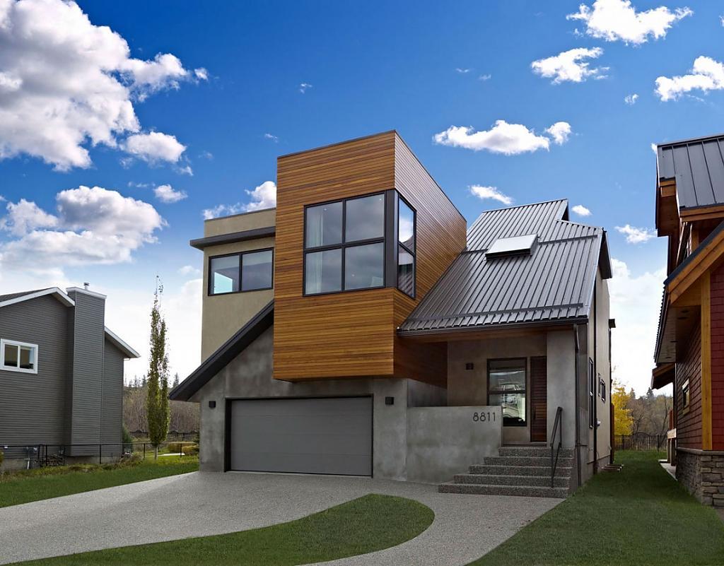 Небольшой домик: проект уютного коттеджа в Канаде