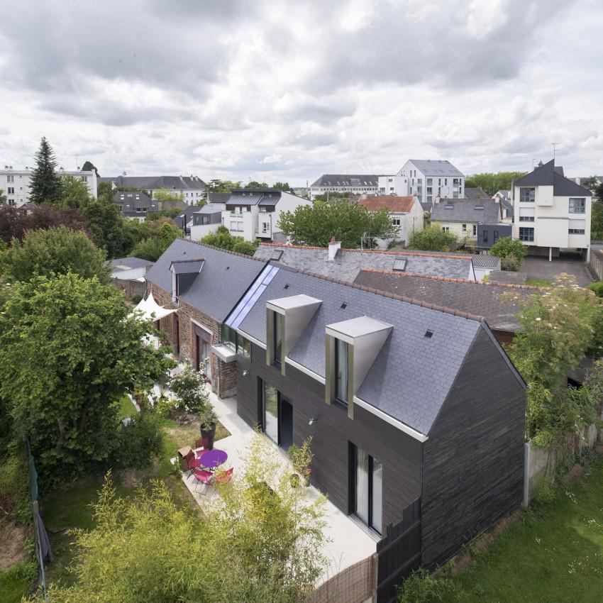 Маленькие уютные дома: проекты романтического The House Between во Франции