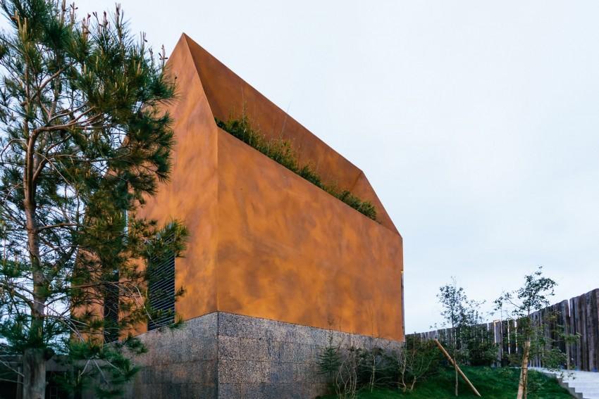 Концептуальная архитектура большого городского дома