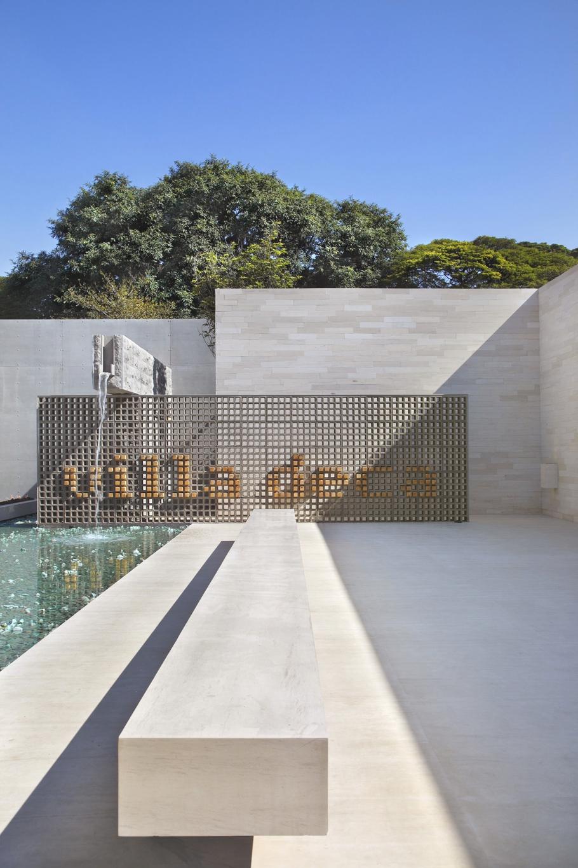 Концептуальный проект фешенебельной виллы из бетона