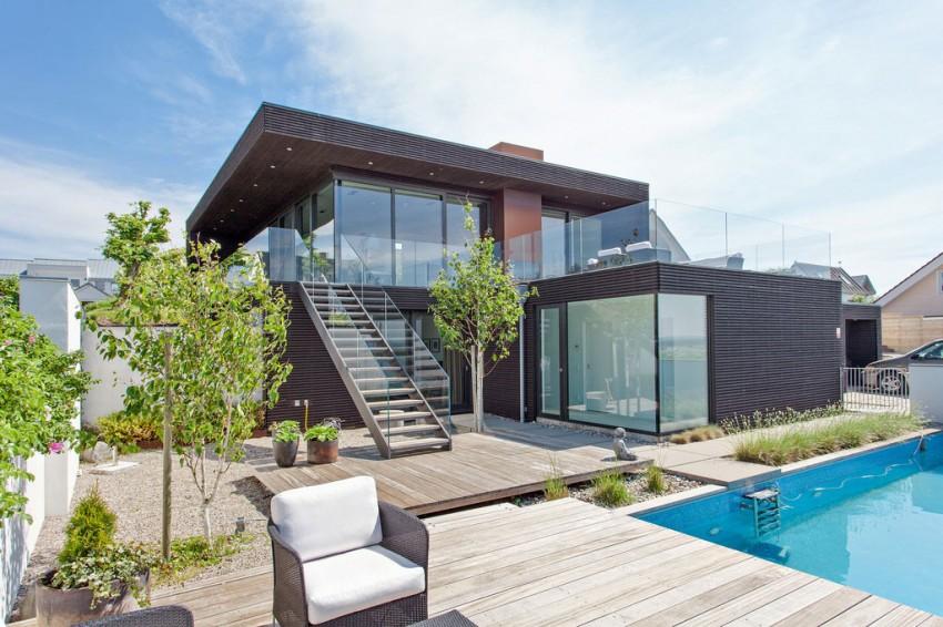 Архитектура Скандинавии: тропический коттедж с видом на Северное море