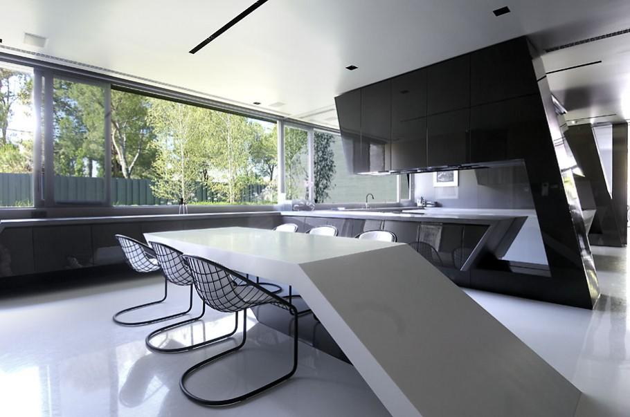 luxury poperty in madrid by a cero architects 08 В испанской столице Мадриде разместилась очаровательная резиденция Concrete House ll на окраине города от студии A cero Architects