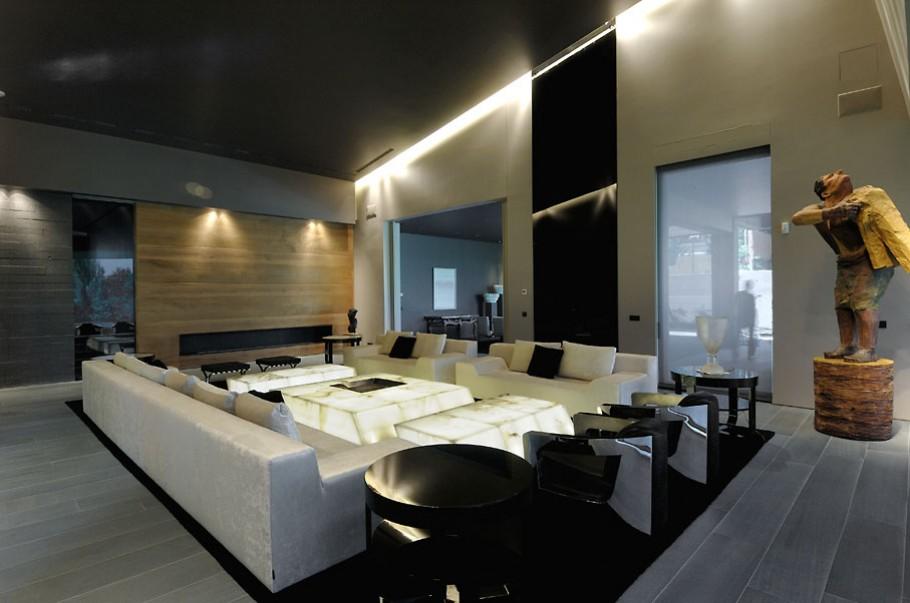 luxury poperty in madrid by a cero architects 13 В испанской столице Мадриде разместилась очаровательная резиденция Concrete House ll на окраине города от студии A cero Architects