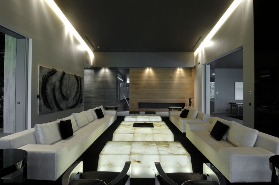 luxury poperty in madrid by a cero architects 14 В испанской столице Мадриде разместилась очаровательная резиденция Concrete House ll на окраине города от студии A cero Architects