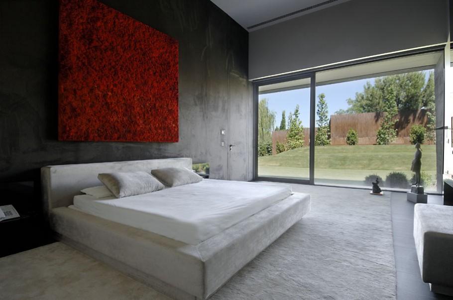luxury poperty in madrid by a cero architects 15 В испанской столице Мадриде разместилась очаровательная резиденция Concrete House ll на окраине города от студии A cero Architects